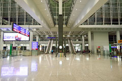 Hong Kong International Airport interior Stock Image
