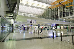 Hong Kong International Airport interior Royalty Free Stock Image