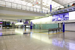 Hong Kong International Airport interior Royalty Free Stock Photography