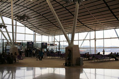 Hong Kong International Airport North Satellite Concourse Royalty Free Stock Photography