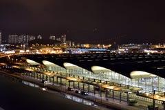 Hong Kong International Airport imagem de stock