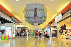 Hong kong international airport shopping area Royalty Free Stock Photography
