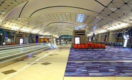 Hong kong international airport terminal 1 Royalty Free Stock Photo