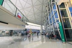 Hong kong international airport Stock Image