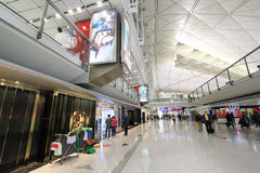 Hong Kong International airport Stock Photography