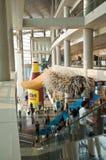 Hong Kong International Art Fair: Lobby stock image