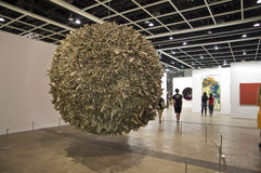 Hong Kong International Art Fair: Sphere Feature Stock Photos