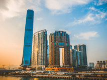 Hong kong International Commerce Centre Stock Photo