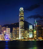 Hong Kong International Finance Centre lizenzfreies stockfoto