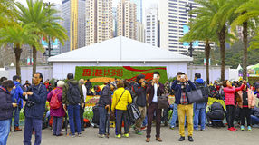 Hong kong international flower show 2016 Royalty Free Stock Image