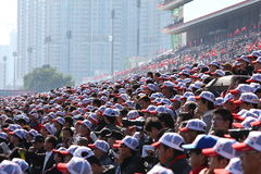 Hong Kong International Races Day 2011 Royalty Free Stock Images