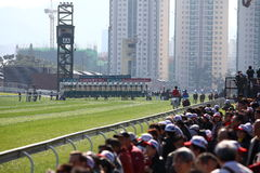 Hong Kong International Races Day 2011 Royalty Free Stock Photo