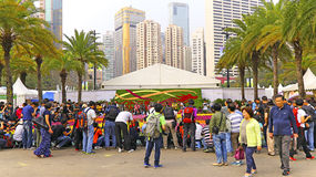 Hong Kong internationallblomsterutställning 2015 Royaltyfri Fotografi