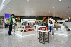 Hong Kong internationell flygplats Royaltyfria Foton