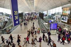 Hong Kong internationell flygplats Arkivbilder