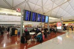 Hong Kong internationell flygplats Arkivbild