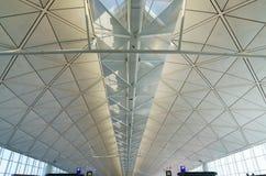Hong Kong internationell flygplats Fotografering för Bildbyråer