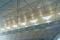 Hong Kong internationell flygplats Royaltyfri Bild