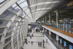 Hong Kong internationell flygplats Kina Fotografering för Bildbyråer