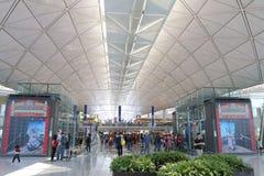 Hong Kong Intl Airport Stock Photo