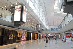 Hong Kong Intl Airport Royalty Free Stock Images