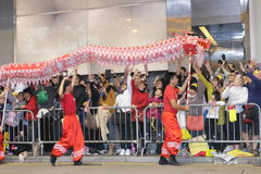 Hong Kong : Intl Chinese New Year Night Parade 2014 Stock Images