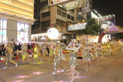Hong Kong : Intl Chinese New Year Night Parade 2015 Stock Photos