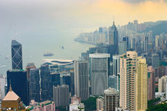 Hong kong island Stock Image