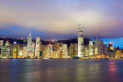 Hong Kong Island Royalty Free Stock Photos