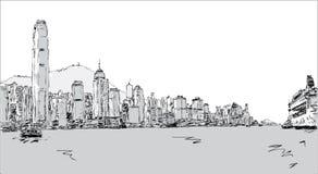 Hong Kong Island lizenzfreies stockbild