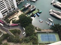 Hong Kong Island Aberdeen Royaltyfri Foto