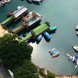 Hong Kong Island Aberdeen Royaltyfri Bild