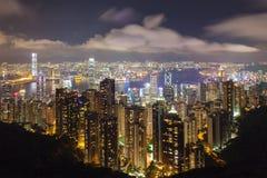 Hong Kong Island Central Cityscape Stock Photography