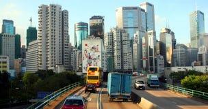 Hong Kong Island, China. City of Hong Kong, China, host of 2008 Olympics Stock Photo