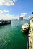 Hong Kong Island ferry Royalty Free Stock Photography