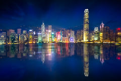 Hong Kong Island Royalty Free Stock Photography