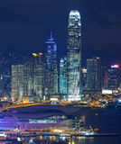 Hong Kong Island night Stock Image