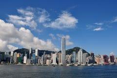 Hong Kong Island. Skyline in 2013 Stock Photos