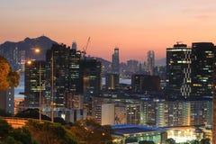Hong Kong Island van het district van het lamtin Stock Fotografie