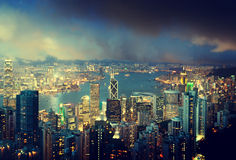Hong Kong island Stock Photo