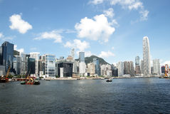 Hong Kong island view Royalty Free Stock Photos