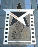 Hong Kong Jackie Chan Star. Hong Kong - movie Kung Fu star Jackie Chan - Avenue of Stars royalty free stock photography