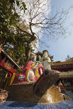 The Tin Hau temple of HK. Stock Image