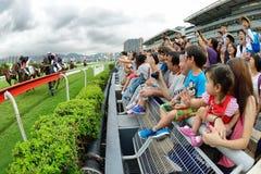 Hong Kong Jockey Club's Pre-season Carnival Stock Images