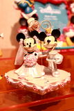 Hong Kong: Juguetes de Minnie y de Mickey Mouse Foto de archivo