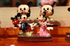 Hong Kong: Juguetes de Minnie y de Mickey Mouse Fotografía de archivo