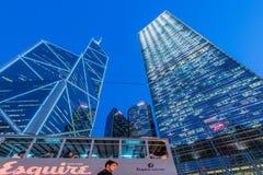 Hong Kong - JULI 31, 2014: Bank van het bureau van China  Royalty-vrije Stock Foto's