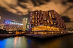 Hong Kong - JULI 27, 2014: Intercontinentaal Hotel Royalty-vrije Stock Afbeeldingen