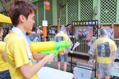 Hong Kong 1 Juli marscherar 2014 Arkivbild