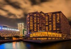 Hong Kong - JULY 27, 2014: Intercontinental Hotel Stock Images